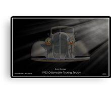 Rum Runner - 1933 Oldsmobile Touring Sedan Canvas Print