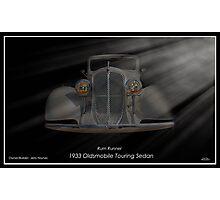 Rum Runner - 1933 Oldsmobile Touring Sedan Photographic Print
