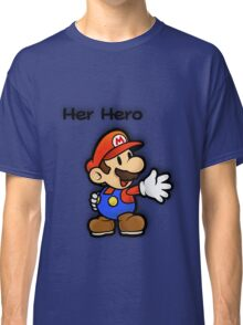 Mushroom Kingdom Couple: Mario Shirt Classic T-Shirt