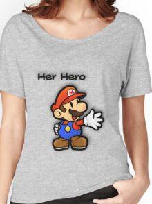 Mushroom Kingdom Couple: Mario Shirt Women's Relaxed Fit T-Shirt