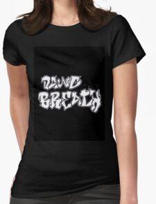 Graffiti Shirt Womens Fitted T-Shirt