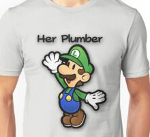 Mushroom Kingdom Couple: Luigi Shirt Unisex T-Shirt