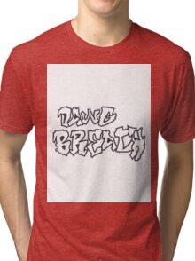 White Graffiti Shirt Tri-blend T-Shirt