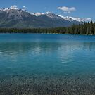 The Crystal Clear Waters of Lac Boisvert by Gerda Grice