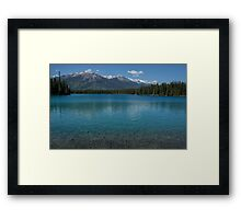 The Crystal Clear Waters of Lac Boisvert Framed Print