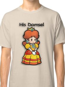 Mushroom Kingdom Couple: Daisy Shirt Classic T-Shirt