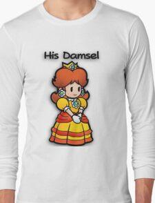 Mushroom Kingdom Couple: Daisy Shirt Long Sleeve T-Shirt