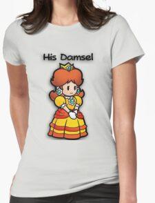 Mushroom Kingdom Couple: Daisy Shirt Womens Fitted T-Shirt