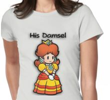 Mushroom Kingdom Couple: Daisy Shirt Womens Fitted T-Shirt