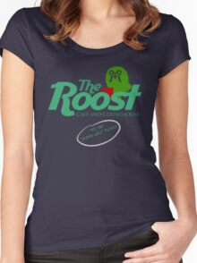 The Roost Store Logo Women's Fitted Scoop T-Shirt