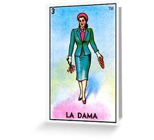 La Dama Greeting Card