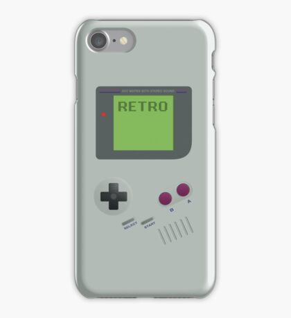 Retro GameBoy iPhone Case/Skin