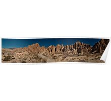Argentine Mountains Panorama - Number 2 Poster
