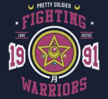 Fighting Warrior Kids Tee