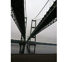 Rainy day under the Bridge Photographic Print