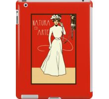 Belle epoque lady on the phone, Italian ladies' fashion iPad Case/Skin