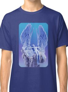 ❦ ❧BLUE ANGEL..I LAID ME DOWN AND SLEPT.. TEE SHIRT❦ ❧ Classic T-Shirt