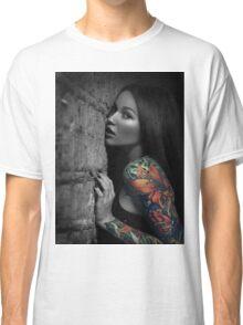 Sexy Tattoo Girl Classic T-Shirt