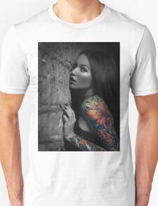 Sexy Tattoo Girl T-Shirt