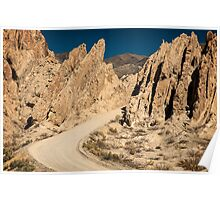 Roadway in the Mountains Poster