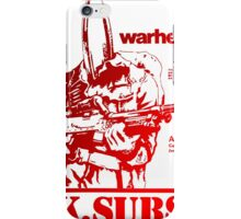 Retro Punk Restyling uk subs iPhone Case/Skin