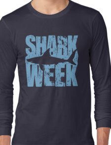 Shark Week Long Sleeve T-Shirt