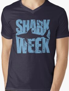Shark Week Mens V-Neck T-Shirt