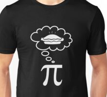 Thinking about pie Unisex T-Shirt