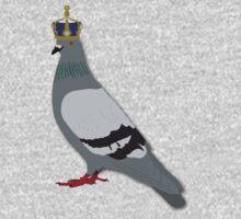 Queen Pigeon One Piece - Short Sleeve