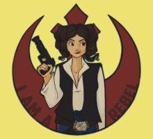 Rebel Girl Kids Tee