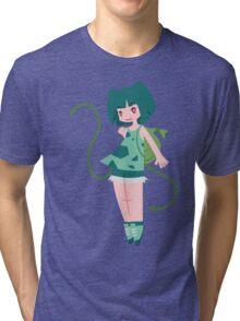 Bulbasaur Girl Tri-blend T-Shirt