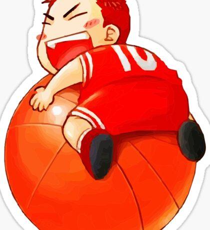 Slam Dunk Baby Sticker