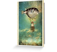 Floated all the way Greeting Card