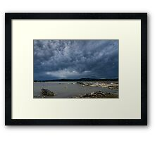 Rotorua Sky Framed Print