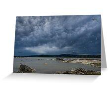 Rotorua Sky Greeting Card
