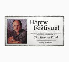 George Costanza - Happy Festivus by Jason Arnold