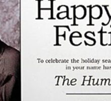 George Costanza - Happy Festivus Sticker