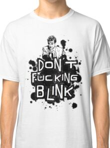 peter capaldi don't blink Classic T-Shirt