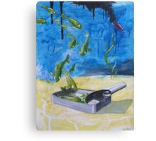 Off- fishial  Canvas Print