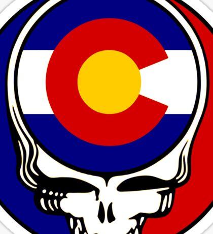 Colorado Stealie Sticker