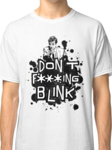 peter capaldi don't blink (clean) Classic T-Shirt