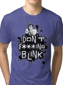peter capaldi don't blink (clean) Tri-blend T-Shirt