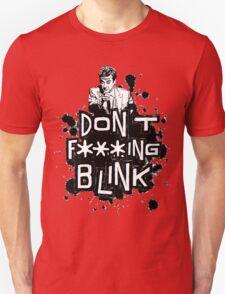peter capaldi don't blink (clean) Unisex T-Shirt