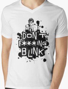 peter capaldi don't blink (clean) Mens V-Neck T-Shirt