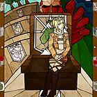 II The High Priestess - Annie Leonhardt by legendaryarmor