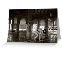 venetian story no.17 Greeting Card
