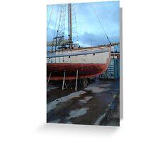 Watchet Boat #2 Greeting Card