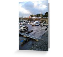 Watchet Harbour #2 Greeting Card