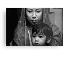 Mother & Son Metal Print