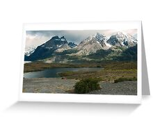 '' SCENIC CHILE '' Greeting Card